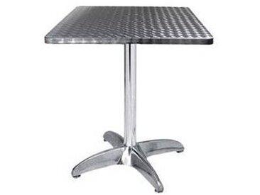 e xtra TRA-42C60 Table terrasse alu/inox2