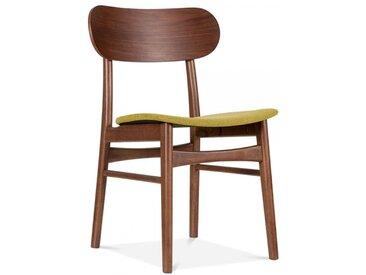 Chaise Rembourrée Moderniste - Olive Couleur de Siège: Olive Seat