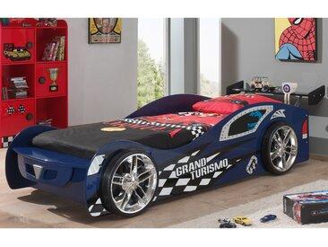 Lit voiture 246,6x111x68 cm bleu