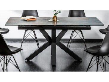 Table extensible verre et céramique - Dirce - Lave