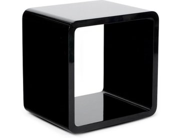 Table d'appoint ou chevet cube - Acton - Noir