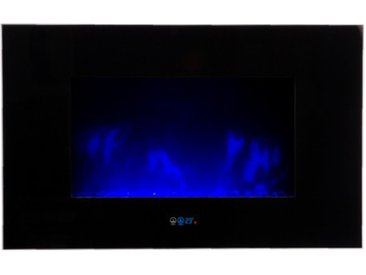 Cheminée design électrique LEDs - Volcano - Sans pied