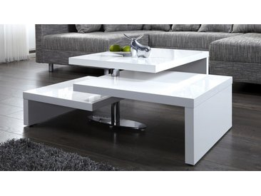 Table basse blanche modulable - Durban