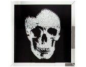 Tableau miroir design tête de mort - Howell - 60 x 60 cm