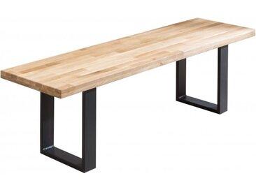 Banc design bois massif et métal - Ottman