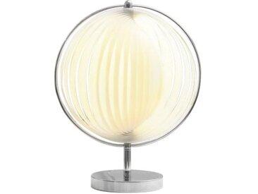 Petite lampe moderne à lamelles - Moon JR - Blanc