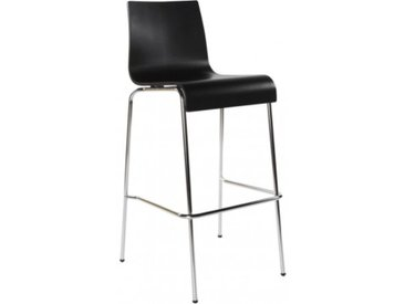 Chaise haute de bar moderne - Lino - Noir