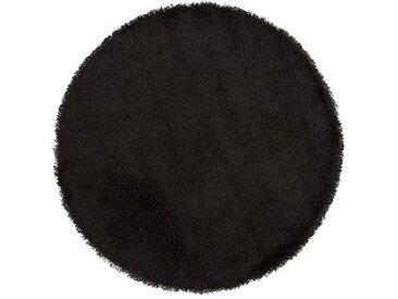 Tapis design rond à poils longs - Bray - Diamètre 160