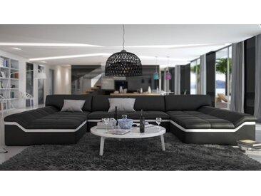 Canapé cuir design panoramique - Dorog - Simili cuir