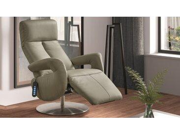 Fauteuil relax électrique cuir - Darko - Beige 998A