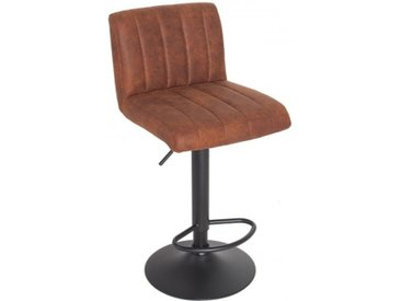 Tabouret de bar design marron - Noto