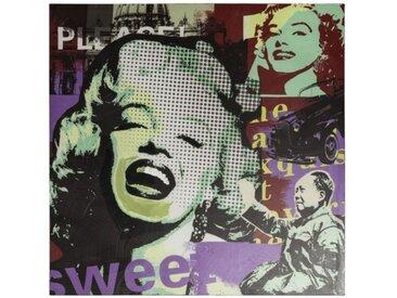 Peinture tendance carrée Marylin Monroe - Angol