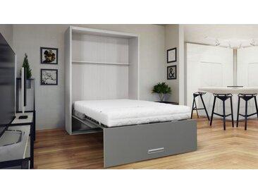 Lit escamotable vertical design - Clifford - 160 x 200 cm