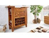 Mini bar moderne bois de palissandre - Shankar