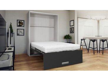 Lit escamotable vertical design - Clifford - 140 x 200 cm