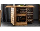 Bar design bois massif - Ramata - Palissandre massif