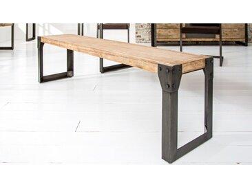 Banc industriel bois et métal - Jorg