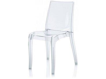 Chaise design transparente - Gloria