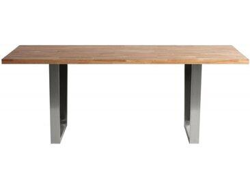 Table de salle à manger bois massif - Dohan