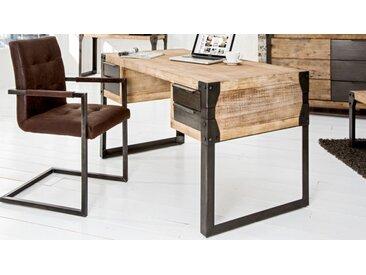 Bureau industriel bois et métal - Jorg