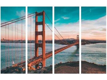 Tableau triptyque San Francisco - Artak