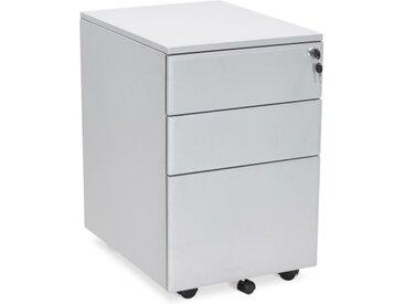 Caisson de bureau avec tiroirs - Liko - Gris