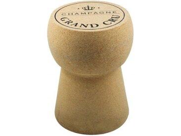 Pouf design liège bouchon de champagne - Karl