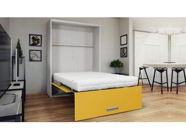Lit escamotable vertical design - Clifford - 90 x 200 cm
