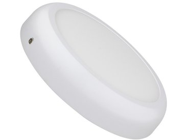 Plafonnier LED Rond Design 18W White