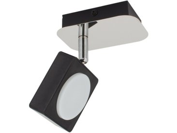 Applique LED Murale Orientable Capri 1 Spot 6W Noir