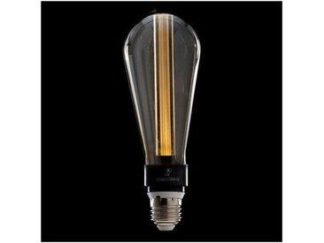 Ampoule LED Art Deco 3D ST64 5W E27 Verre Gris