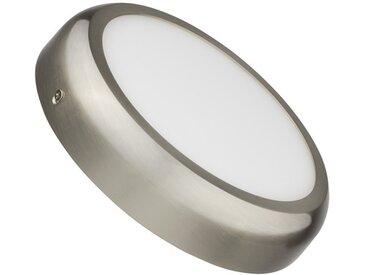 Plafonnier LED Rond Design 18W Silver