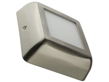 Plafonnier LED Carré Design 6W Silver