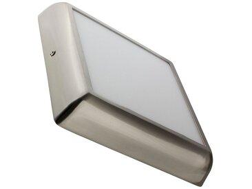 Plafonnier LED Carré Design 18W Silver