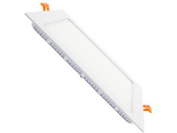 Dalle LED Carrée Extra Plate 18W