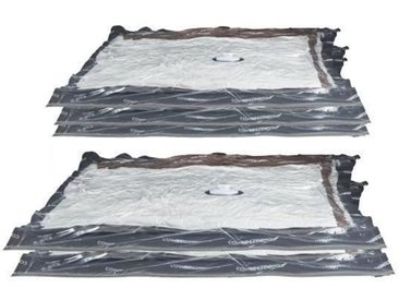 COMPACTOR Lot de 5 Housses de compression - Taille M - Transparent