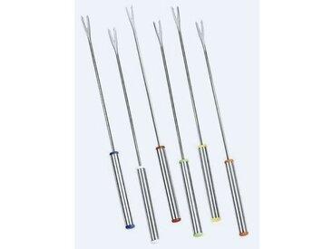 COSY & TRENDY K402  Set de 6 fourchettes à fondue, Acier inoxydable,L24,5cm