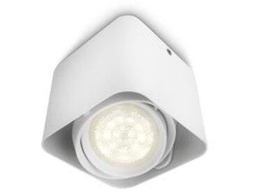 PHILIPS Spot d'éclairage Afzelia LED - Blanc - Ampoule incluse