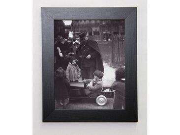 PHOTOGRAPHIE COLLECTION Image encadrée Vos papiers ! 31x37 cm Gris