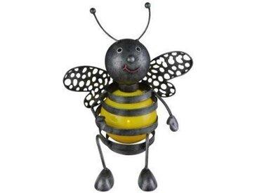 Globo Lighting Lampe solaire abeille - Métal noir - Plastique jaune - IP44