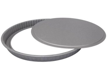 IMF Moule à tarte fond amovible Steel - Ø 31 cm - Gris