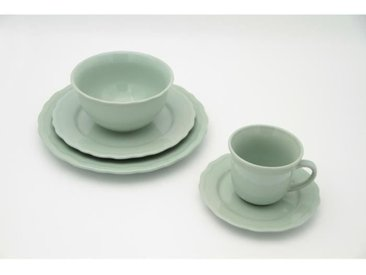 Service de table - 24 pièces - Collection Patrimo - vert eucalyptus