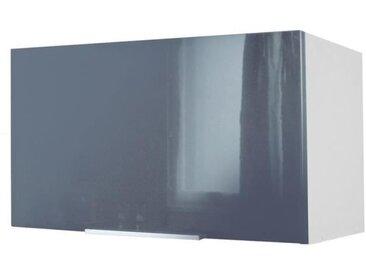 POP Meuble hotte L 60 cm - Gris haute brillance