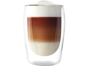 MELITTA Lot de 2 verres en borosilicate pour latté Machiatto 300 ml transparent