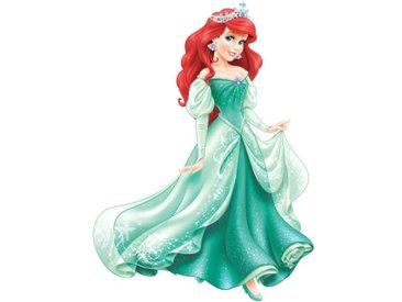 ROOMMATES Stickers DISNEY PRINCESSE ARIEL repositionnables 98x72cm