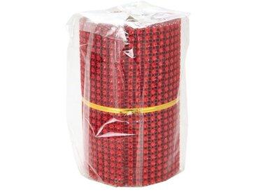 Chemin de table maille 8x2 m rouge