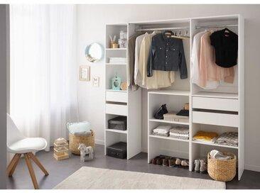 EASY DRESS Dressing - Contemporain - Décor blanc - L 190 cm