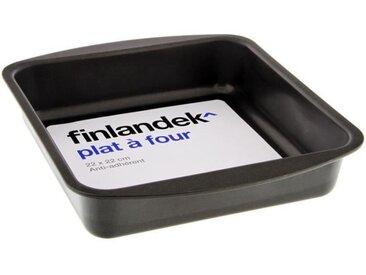 FINLANDEK Plat à four métal carré - 22 cm