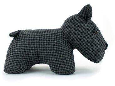 MARLENE BACKER Bloc porte déco Amish Le Scottish 25x17x19 cm noir