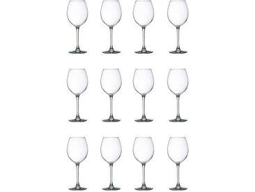 LIBBEY CLARET Lot de 12 verres à eau 24 cl transparent